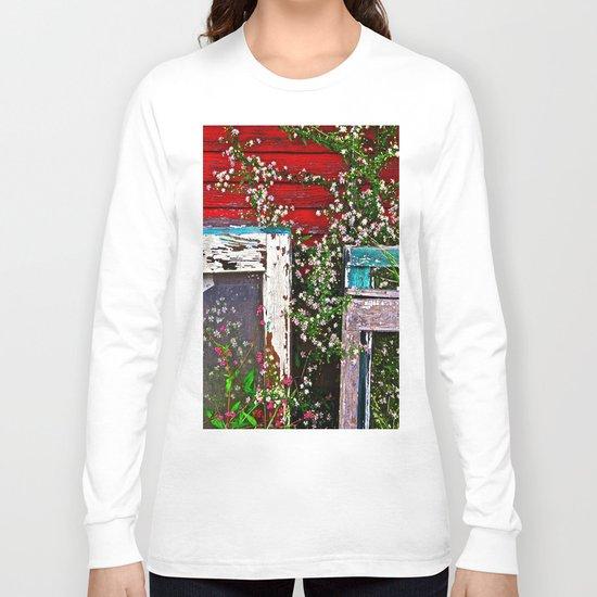 Window Flowers Long Sleeve T-shirt