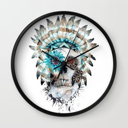Momento Mori XI Wall Clock