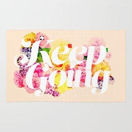 Keep Going Rug