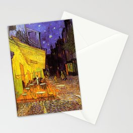 Vincent Van Gogh Cafe Terrace At Night Stationery Cards