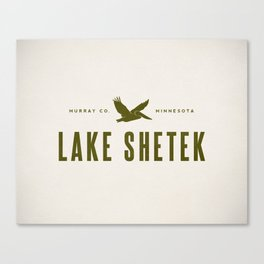 Lake Shetek Canvas Print