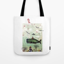 the burden of the inquisitive mind Tote Bag