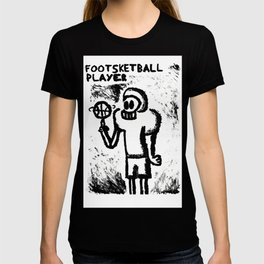 Footsketball Player T-shirt