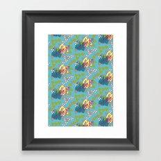 Geo Summer Framed Art Print