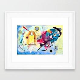 Wassily Kandinsky - Yellow Red Blue Framed Art Print