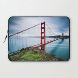 Gate to the City Laptop Sleeve