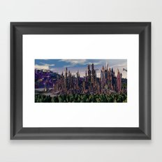 Rise  of  Ruin Framed Art Print