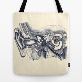 Inner ear anatomy Tote Bag