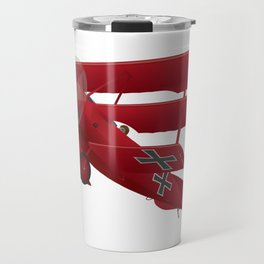 DR-1 Red Baron Triplane WWI Warbird Travel Mug