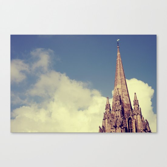 Vintage Oxford Canvas Print