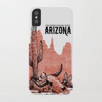 arizona iPhone & iPod Cases featuring Arizona by Krikoui