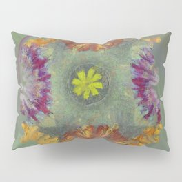 Trabes Stripped Flowers  ID:16165-151640-97070 Pillow Sham