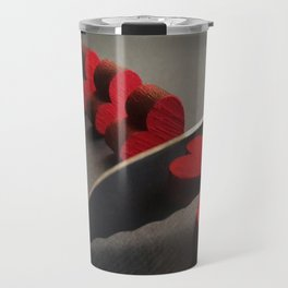 SLICED HEART Travel Mug