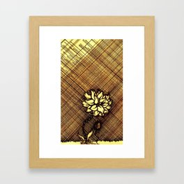 Bloomy Vintage Framed Art Print