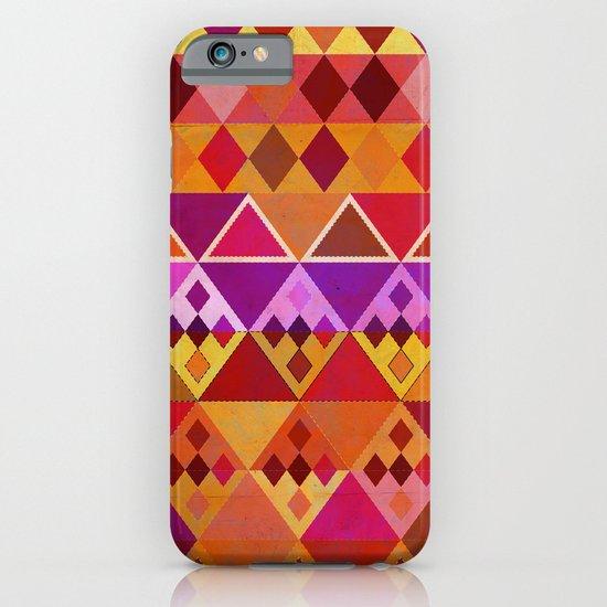 Fire Diamond Pattern iPhone & iPod Case