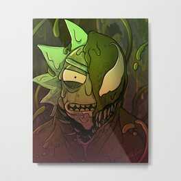 We are TOXIN Metal Print
