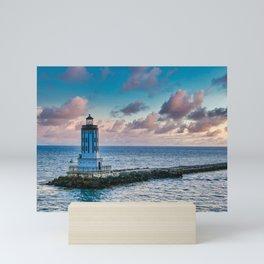 Los Angeles Harbor Lighthouse Mini Art Print