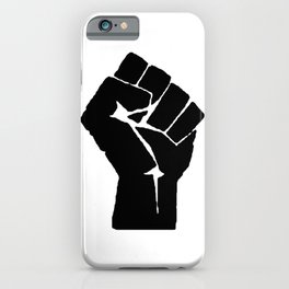 BLM Fist iPhone Case