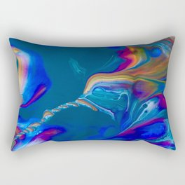 Hummingbird Nebula Rectangular Pillow
