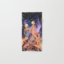 Swimsuit Vintage Collage art Hand & Bath Towel