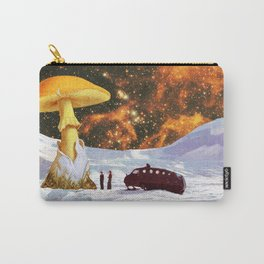 Withe Planet Carry-All Pouch