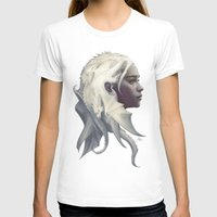 her T-shirts featuring Mother of Dragons by Artgerm™