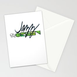 Jazz on the Green Stationery Cards