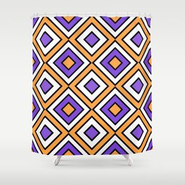 Geo Square 21 Shower Curtain