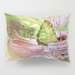 Emily Carr - Surge of Spring - Canada, Canadian Oil Painting - Group of Seven Pillow Sham