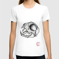 animal skull T-shirts featuring Animal Skull by Emma Heller
