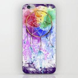 "dreamcatcher ""purple night"" iPhone Skin"