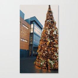 New year tree Canvas Print