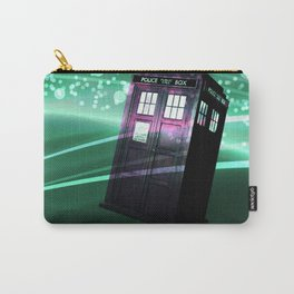 tardis doctor who Carry-All Pouch
