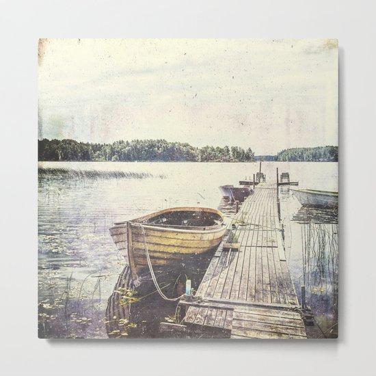 Boaty Metal Print
