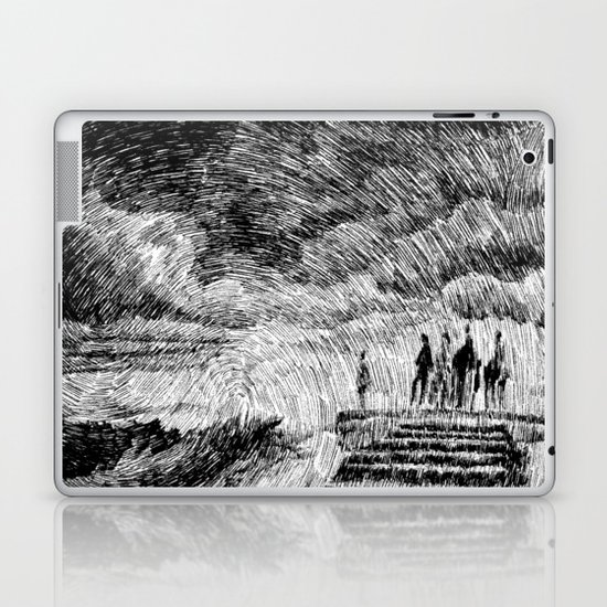 Storm - Ink Laptop & iPad Skin