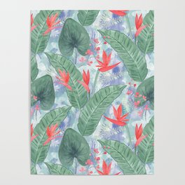 Tropical pattern 4 Poster