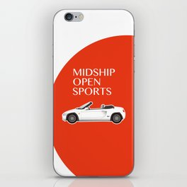 Midship Open Sports iPhone Skin