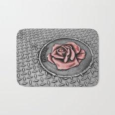 The rose beneith my feet Bath Mat