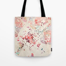 Charlotte map Tote Bag