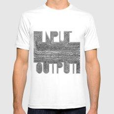 OutputInput Mens Fitted Tee White MEDIUM