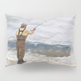Just One More Cast Pillow Sham