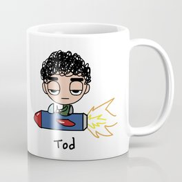 Tod in Rocket Coffee Mug