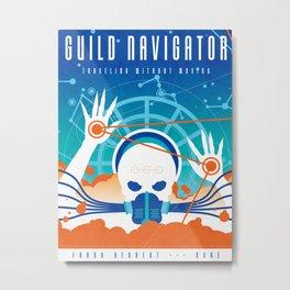 My Dune Concepts :: The Guild Navigator Metal Print
