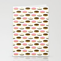 donuts Stationery Cards featuring Donuts by Sara Showalter