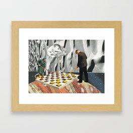 The Game  Framed Art Print
