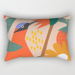 Cute pollinator Rectangular Pillow