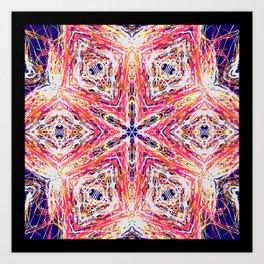 openwork 6 Art Print