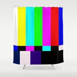No Signal TV Shower Curtain