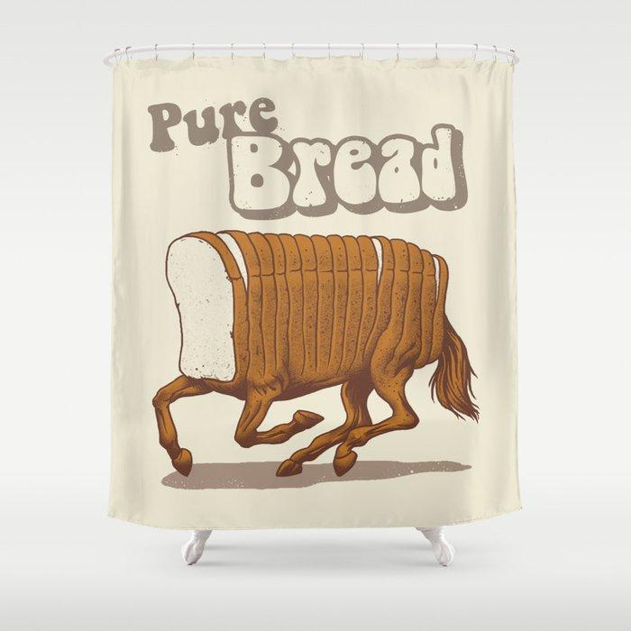 Pure Bread Shower Curtain