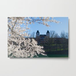 The Kennedy Art Museum in Spring Metal Print